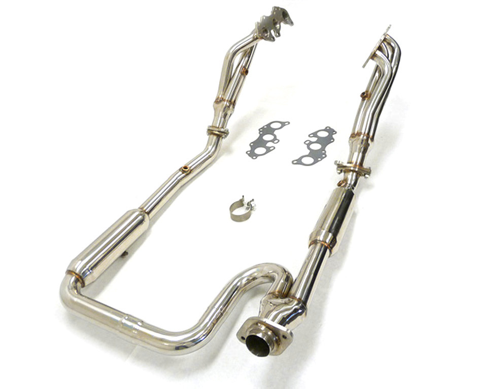 obx exhaust header manifold for 2007 2010 toyota fj cruiser 4 0l 2 4wd a t only