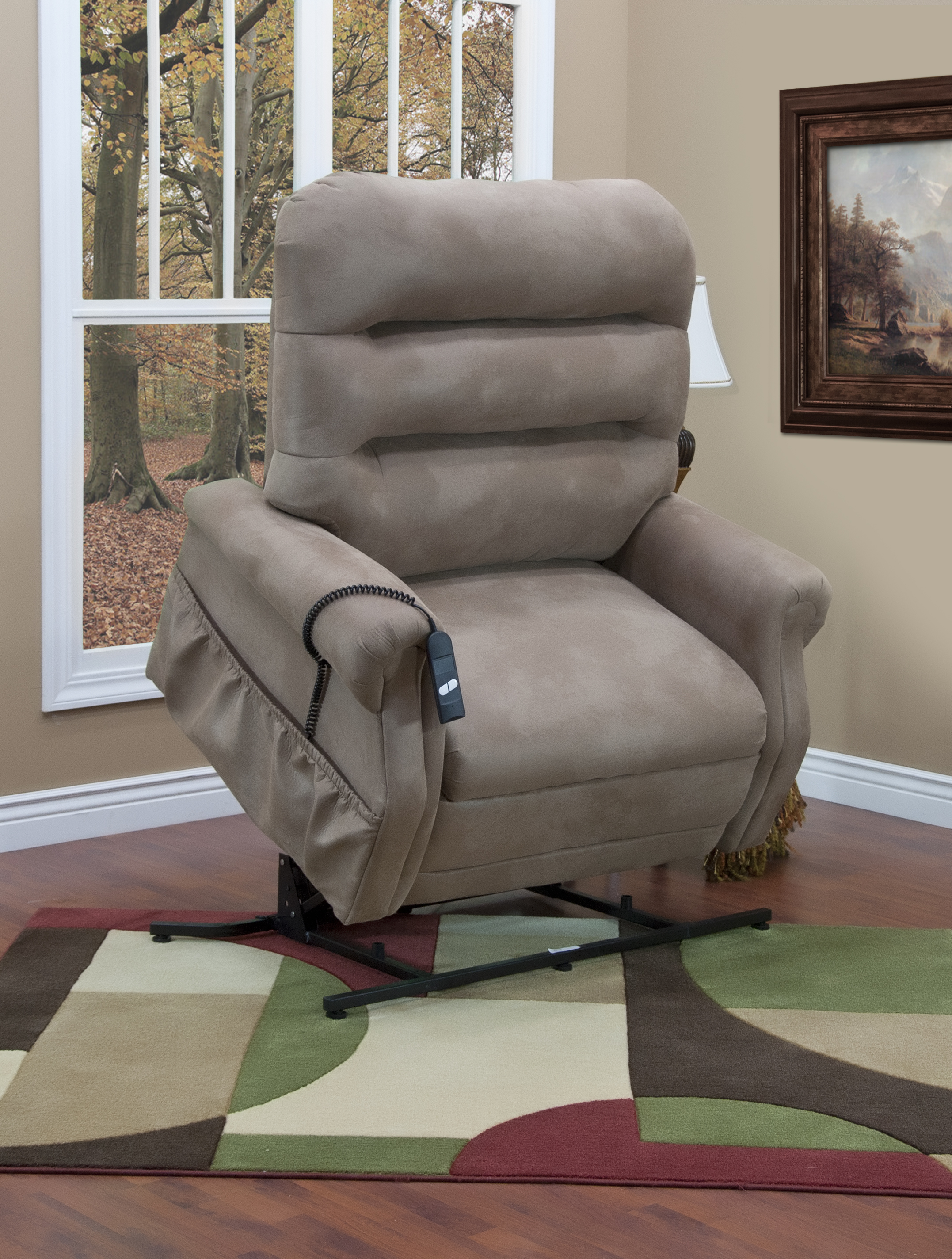 chair photo frame hd porch table and set 3653 600 lbs capacity three way reclining lift by med f jpg stm stampede mocha lifted