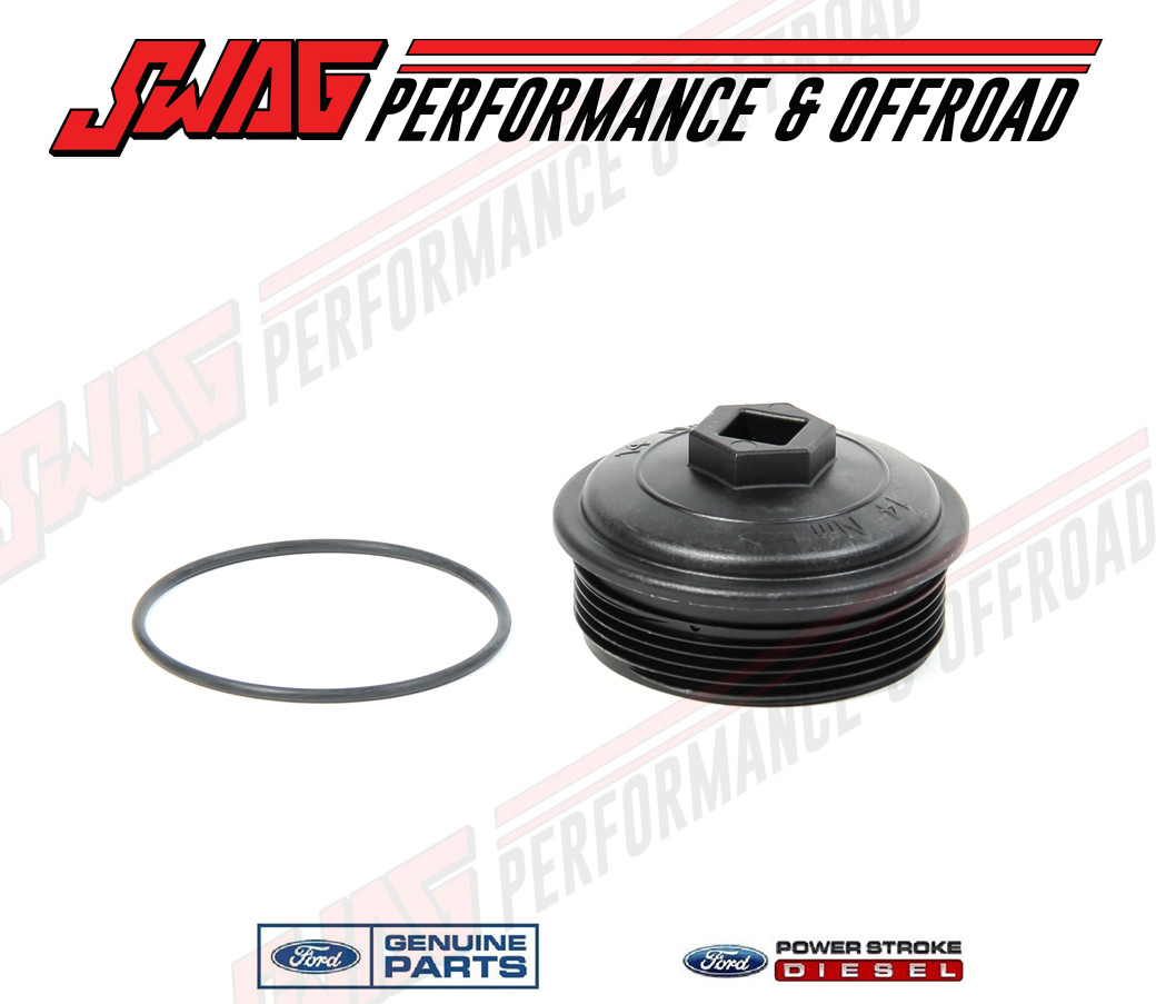 small resolution of  6 0l oem secondary fuel filter cap small image 1