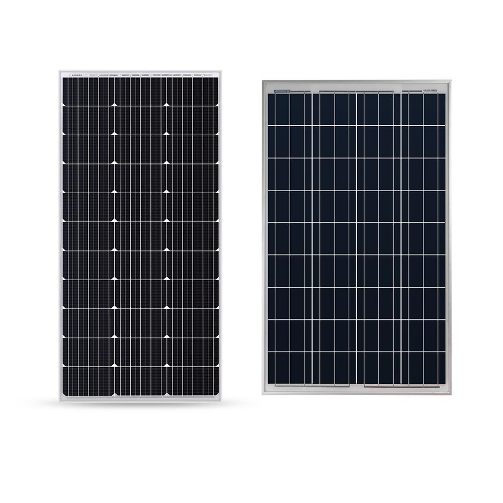 medium resolution of 100w mono or poly panel