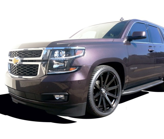 2015 2018 Chevy Tahoe 2wd 2 3 Lowering Kit Maxtrac Ks331523
