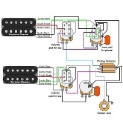Double Humbucker Wiring Diagram Ford 7 Pin Trailer Plug Guitar Diagrams Resources Guitarelectronics Com Custom Bass Service