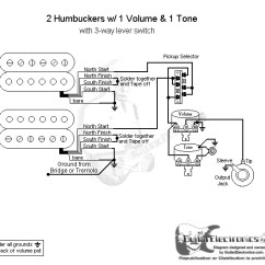 Strat Wiring Diagram 3 Way Switch Diagrams 2 Humbuckers Lever 1 Volume Tone Click To Enlarge