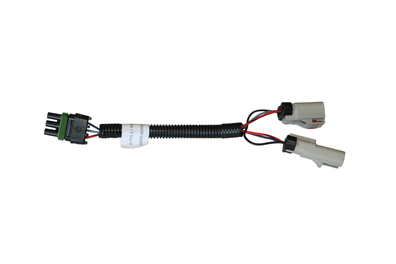 small resolution of this map sensor adapter will plug in to the main wiring harness into the flat 3 pin deutsch connector with the red black light blue and dark blue wires