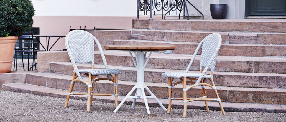 paris bistro chairs outdoor grey leather dining uk furniture tables bistrofurniture com sika design french