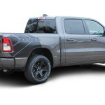 Revolution 1500 Sides 2019 2020 Dodge Ram 1500 Side Bed Decals Vinyl Graphic Stripe Kit Moproauto Professional Vinyl Graphics And Striping