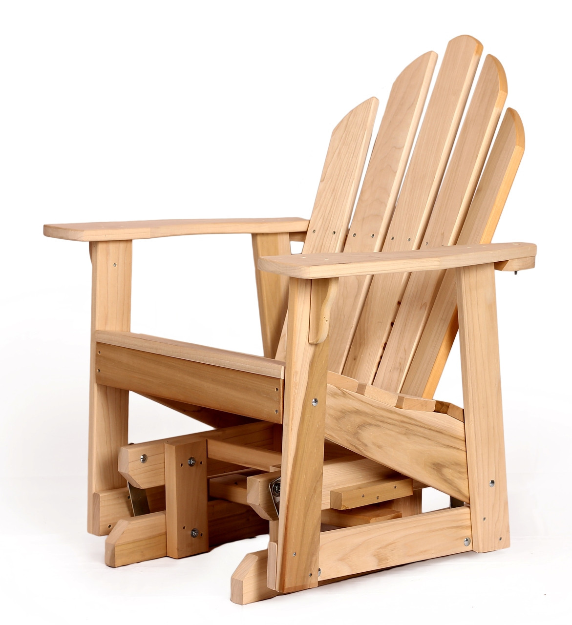 Lifetime Adirondack Chairs Poplar Adirondack Single Glider Southern Outdoor Furniture