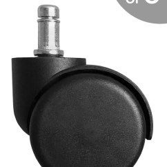 Desk Chair Casters Good Desks For Gaming Replacement Heavy Duty Office S5490 5 Caster