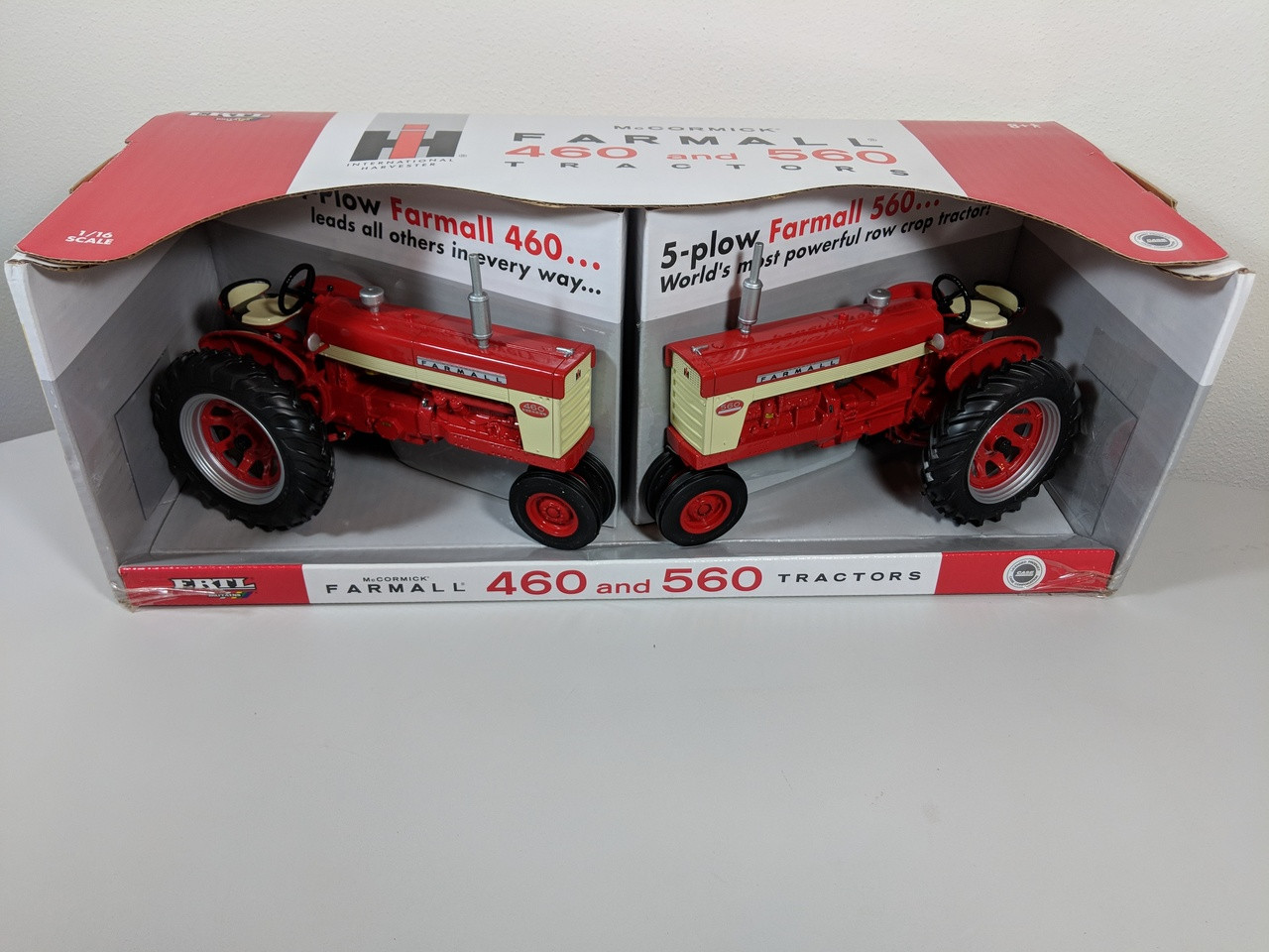 hight resolution of 1 16 farmall 460 and 560 2 piece tractor set collector edition set also 806 farmall tractor wiring harness in addition 560 farmall
