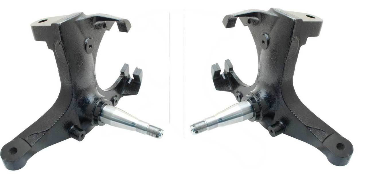 hight resolution of  chevy truck disc brake spindles stock height image 1