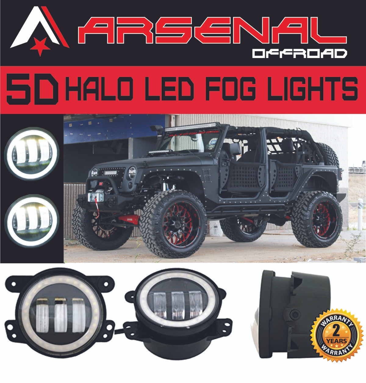 small resolution of  1 4 inch 60w cree led fog lights w white halo ring drl for jeep wrangler 97 15 jk tj lj off road fog lamps