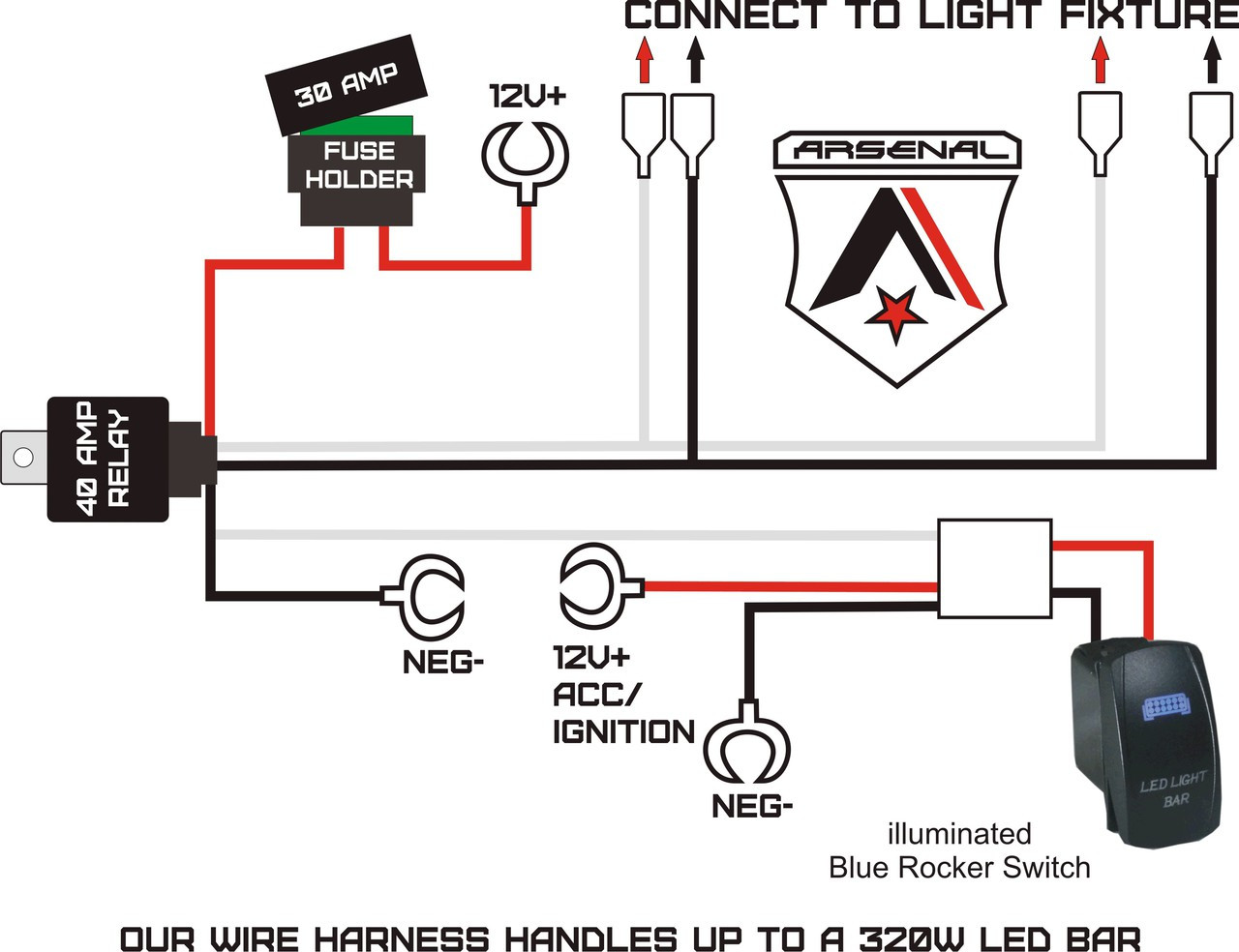 medium resolution of  1 40 inch led cree light bar by arsenal offroad 228w spot flood combo beam offroad trucks 4x4 jeep trucks utv suv 4x4 polaris razor 1000 tractor raptor