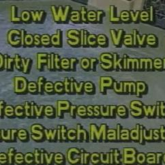 Cal Spa Whisper Power Unit Wiring Diagram Rb25det Alternator Hot Tub Pressure Switch Repair Replace Troubleshooting Other Systems That Don T Have Error Messages Will Just Not Heat Note Gecko Packs May Show Flashing Dots Near The Bottom Of Readout Display
