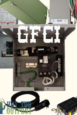 Hot Tub Electrical Installation Hookup GFCI