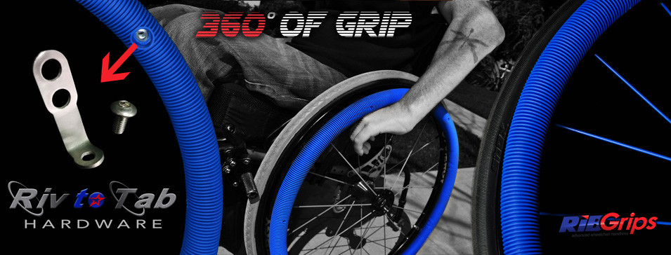 wheelchair grips industrial metal chairs ribgrips handrim colors living spinal a designed by quadriplegic veteran are perfect for anyone looking to push their with more ease and comfort