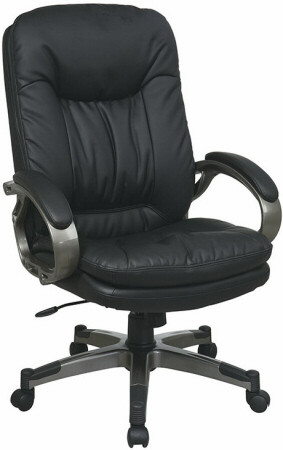 office star chairs chair design for back pain executive eco leather ech83507 1