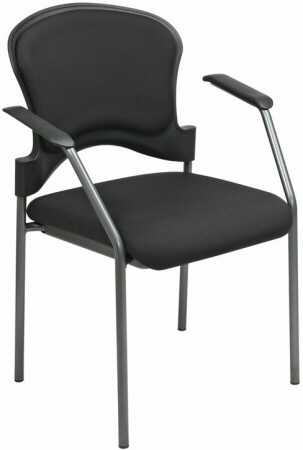 stackable padded chairs green leather fabric stacking office star 82710 1