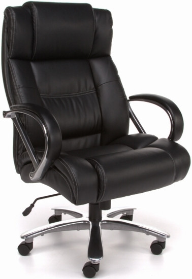 unique leather office chairs portal zero gravity lounge chair ofm 810 lx avenger 500 lb in black or brown big and tall high back executive 1