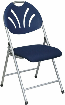 folding chair fabric hickory rocking plastic fan back with blue seat fc8100ns chairs 1
