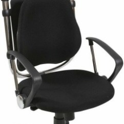 Lumbar Support Office Chair Rustic Kitchen Table And Sets Balt Posture Perfect 34571