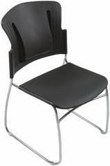 balt posture perfect chair antique morris lumbar support office 34571 reflex stackable plastic chairs 34428 1