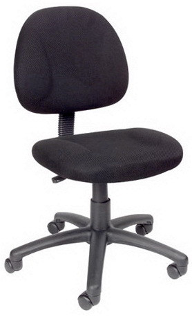upholstered computer chair target glider ottoman desk chairs boss fabric b315 1