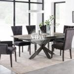 Valerius Dining Table Ext 170 220 Cm Ideal Furniture