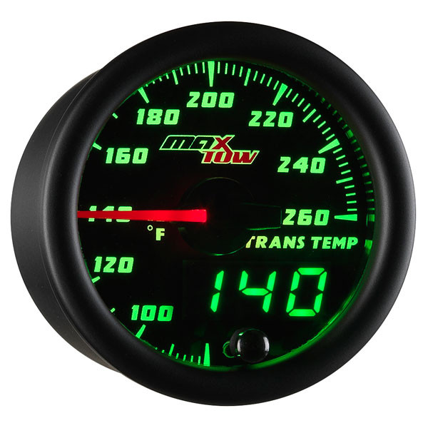 glowshift trans temp gauge wiring diagram chimpanzee skull maxtow transmission temperature