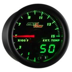 Glowshift Egt Gauge Wiring Diagram Kenwood Dnx5120 Pyrometer Gauges Black Green Maxtow 1500 F