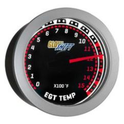 Glowshift Egt Gauge Wiring Diagram 95 Ford Explorer Pyrometer Gauges Tinted 1500 F