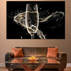 Large Canvas Art For Living Room Ideas Black Furniture 1 Piece Wine Wall Artwork Huge Pictures