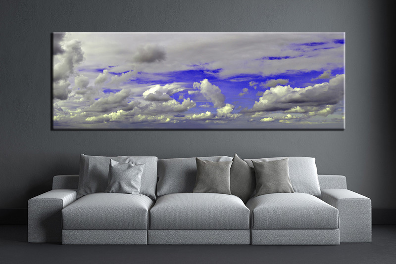 large canvas art for living room small house design photos 1 piece grey abstract huge wall pictures multi