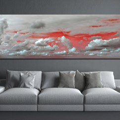 Nice Artwork Living Room Lazy Boy Sofas 1 Piece Abstract Grey Canvas Wall Art Huge Pictures Multi Panel Prints