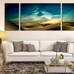 Large Canvas Art For Living Room Cafe By Eplus 3 Piece Print Landscape Multi Panel Green Artwork Huge
