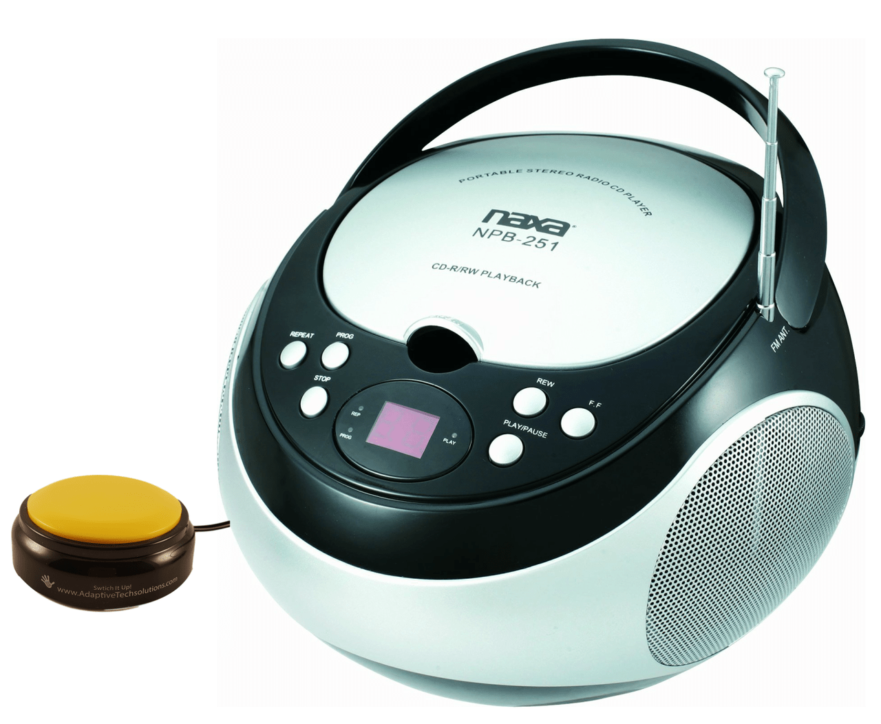small resolution of switch adapted cd player with am fm radio