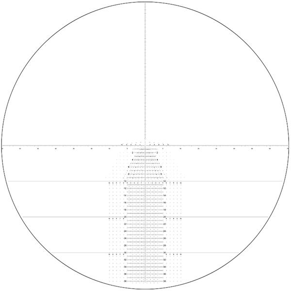 NightForce C549: ATACR 4-16X42mm F1 ZeroHold Horus Tremor3