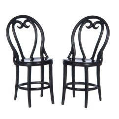 Cafe Chairs Metal For Vanity Tables Fca2895br 2 Brown Jeepers Dollhouse Miniatures Pair Of Miniature