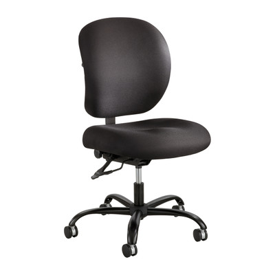 task chair without arms black cross back chairs nz alday 24 7 saf 3391 safco fabric