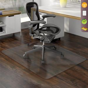 ergonomic chair mat rocking glider cushions office floor mats pvc officechairsusa economat non studded clear hard