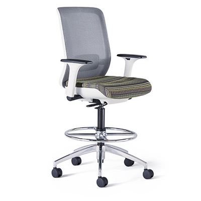 neutral posture chair cast iron table and chairs gumtree icon stool officechairsusa w polished aluminum base