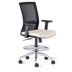 Neutral Posture Chair Review Cracker Barrel Rocking Padded Desk Officechairsusa Renati Stool
