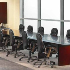 Conference Tables And Chairs Desk Chair Turquoise Wood Meeting Room Officechairsusa Mayline Napoli Veneer Table Black White