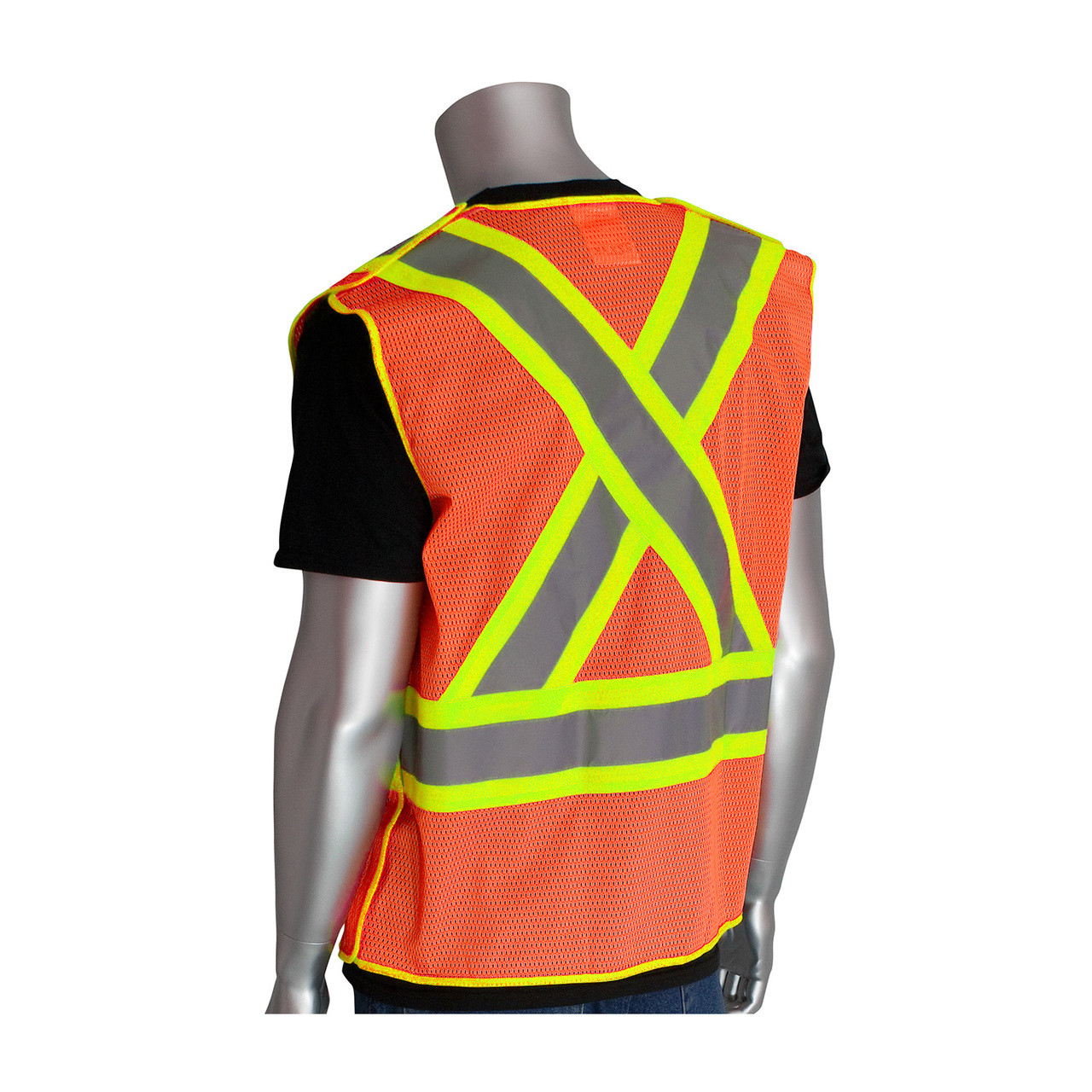 Pip Ansi Class 2 X- Safety Vest -vis Orange 5