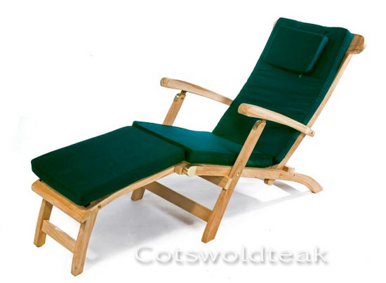 teak steamer chair how to make a cover without sewing cushion cotswold quality garden furniture product reviews