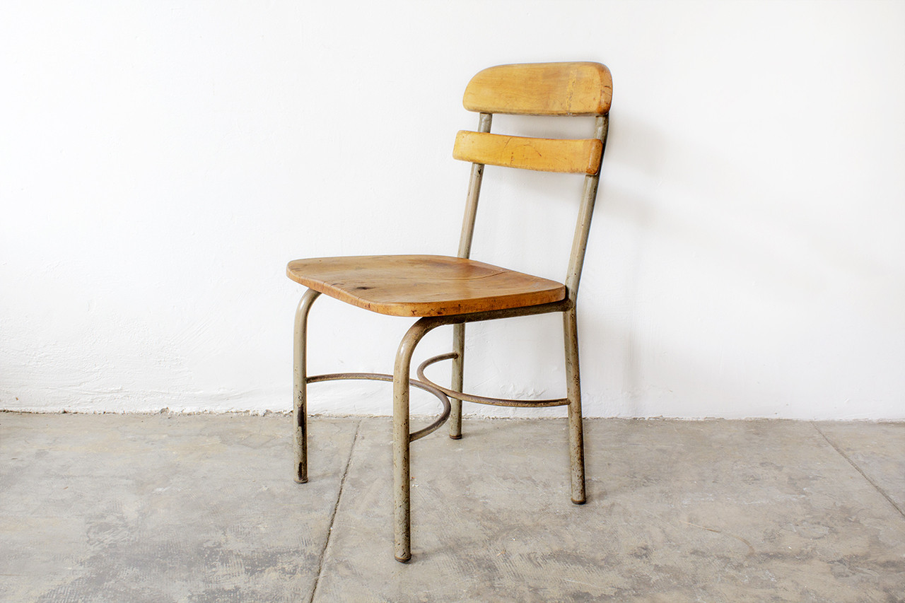 Vintage School Chairs Sold 1950s School Chair Uncommon