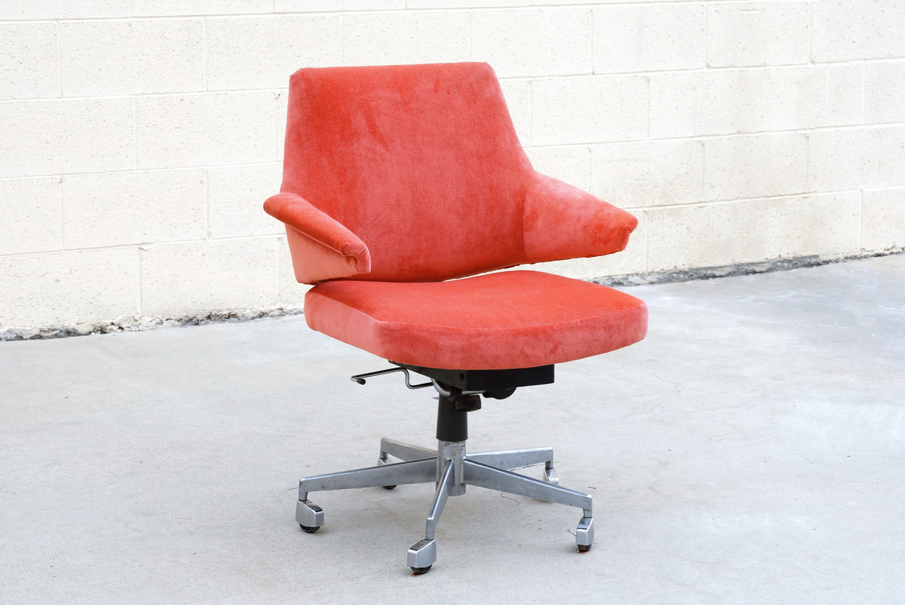 Red Desk Chair Sold Danish Modern Desk Chair By Jacob Jensen For Labofa