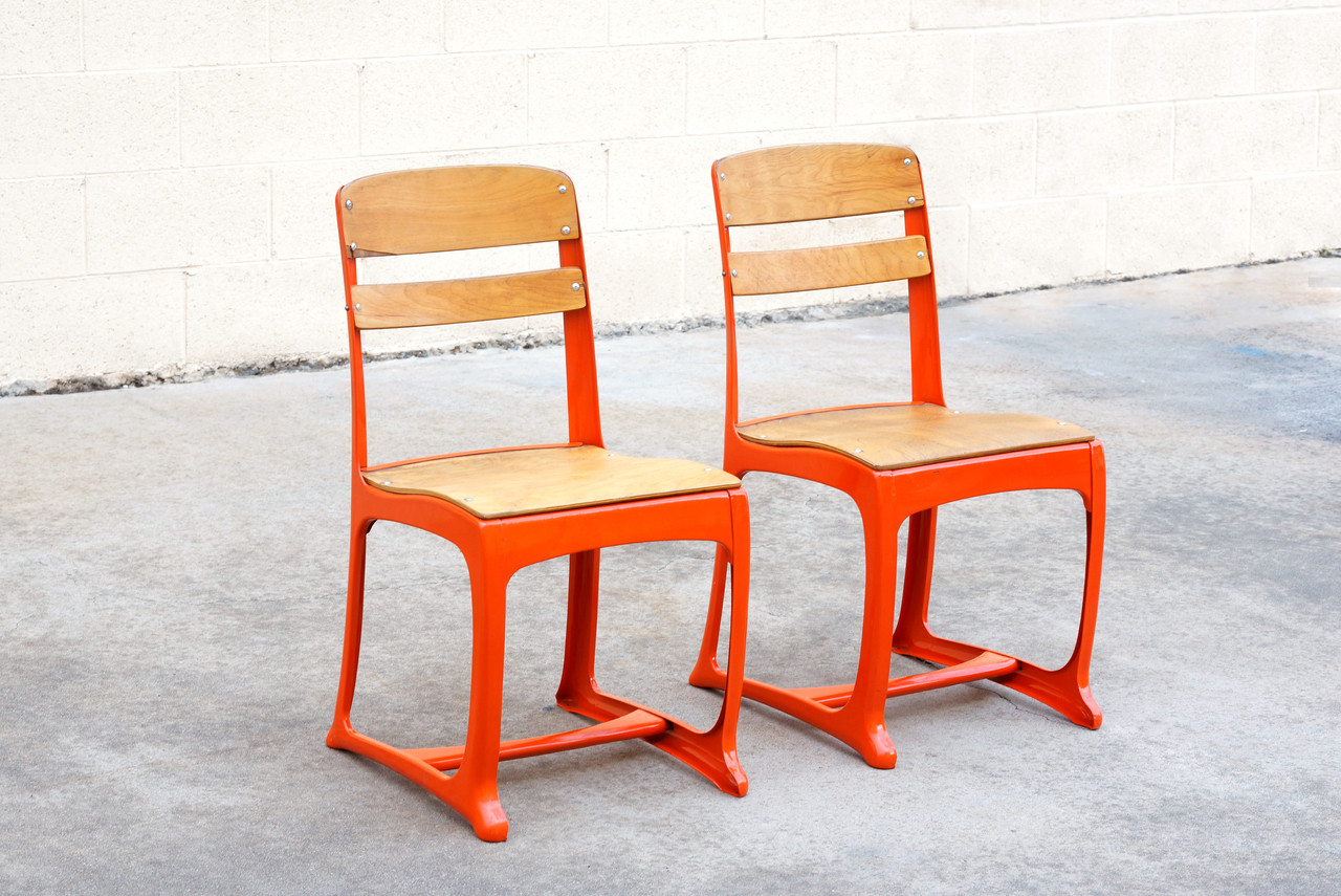 Vintage School Chairs Sold 1950s Retro School Chairs Refinished