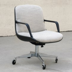 Steelcase Vintage Chair Galvanized Metal Sold 451 Office Refinished Rehab Image 1