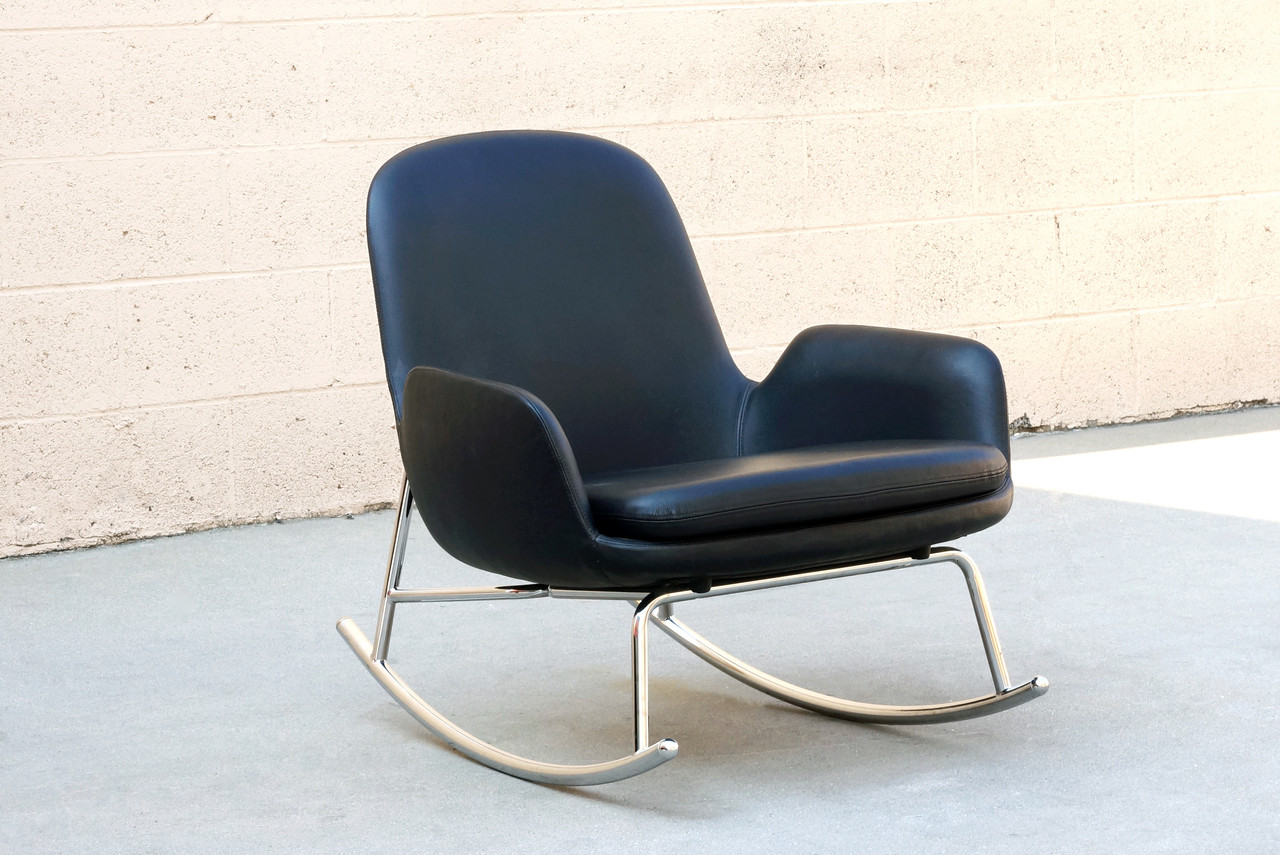 danish modern rocking chair ak gaming by simon legald for normann copenhagen image 1