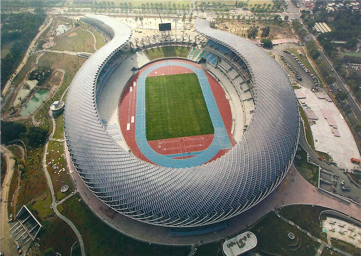 Kaohsiung National Stadium (WSPE-486) - Stadium Postcards
